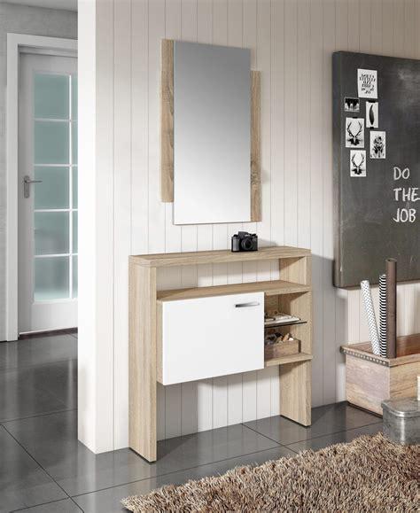 Recibidor en melamina F1005 | Muebles Industria   Barcelona