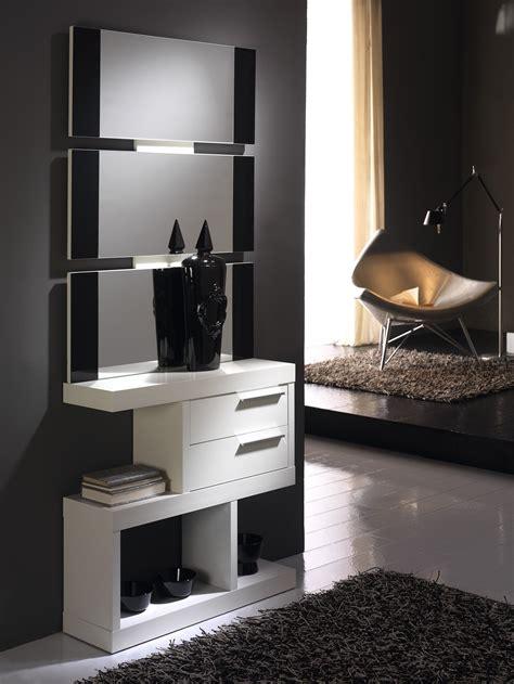 Recibidor moderno diseño lacado | Mobles Sedaví | Muebles ...