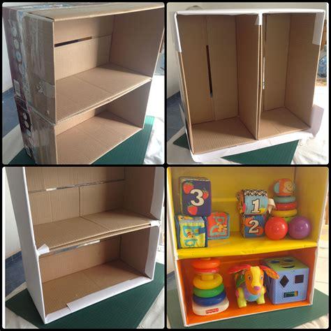 Reciclando caja de pañales!!!   Muebles de cartón ...