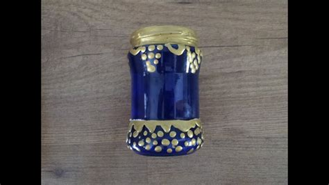 Reciclar bote de cristal para decoración marroquí ...