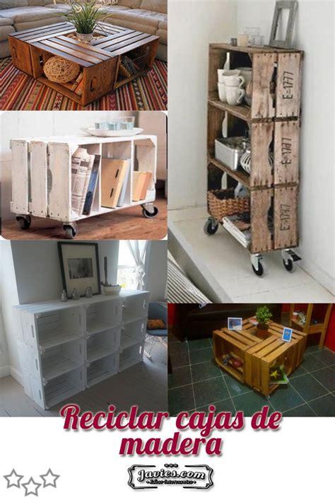 Reciclar cajas de madera   Javies.com