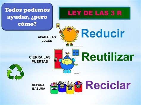 Reciclar, Reducir y Reutilizar | Sistema Departamental ...