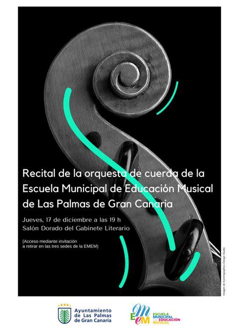 Recital de la orquesta de cuerda de la Escuela Municipal ...