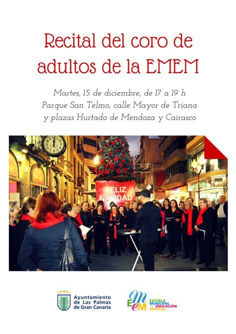 Recital del Coro de adultos de la Escuela Municipal de ...