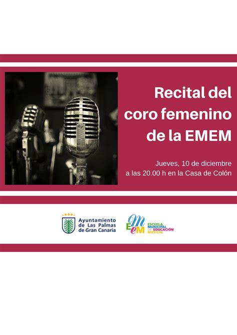 Recital del Coro femenino de la Escuela Municipal de ...