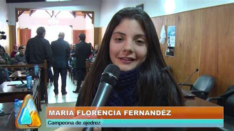 RECONOCIMIENTO AL MÉRITO, María Florencia Fernández ...
