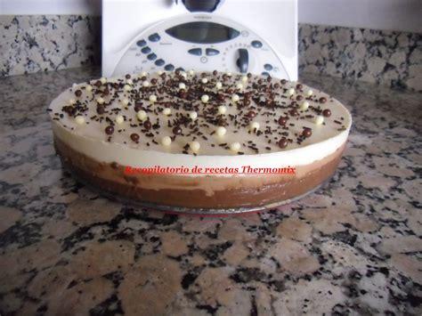 Recopilatorio de recetas thermomix: Tarta 3 chocolates en ...
