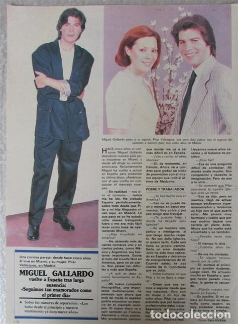 Recorte semana 2576 1989 miguel gallardo, pilar   Vendido ...