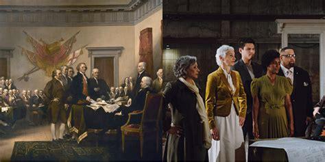 """Recrean imagen """"Declaración de Independencia"""" después de ..."""