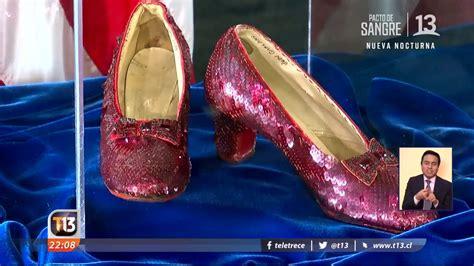 Recuperan los zapatos del  Mago de Oz    YouTube