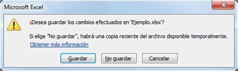 Recuperar un archivo de Excel   Excel Total
