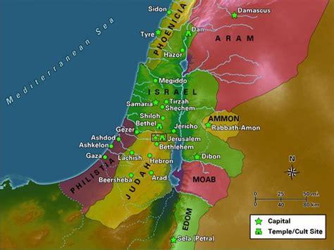 RECURSOS DE EVANGELISMO: MAPA DE ISRAEL DIVIDIDO