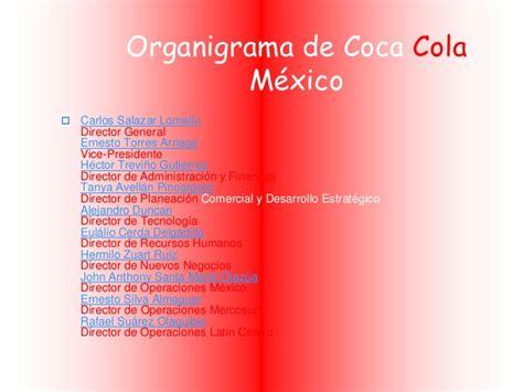 Recursos humanos de coca cola