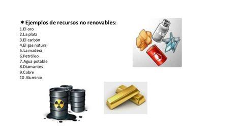 Recursos naturales. fuentes alternativas