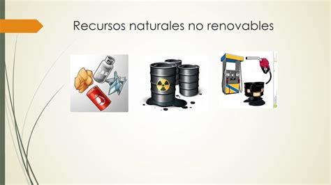 Recursos renovables, no renovables e inagotables   YouTube