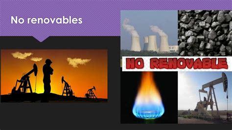 recursos renovables, no renovables y parcialmente ...