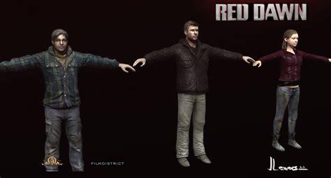 Red Dawn 2012 art
