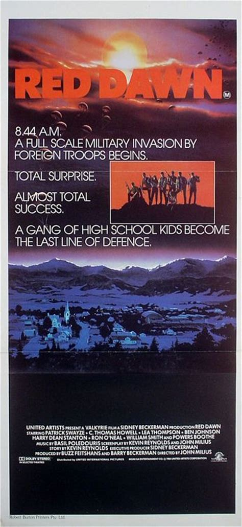 Red Dawn Movie Poster  #2 of 3    IMP Awards