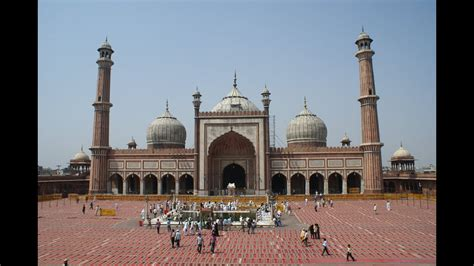 Red Fort and Jama Masjid   Delhi, India   YouTube