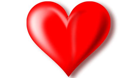 Red Heart 3 D Wallpaper Hd : Wallpapers13.com