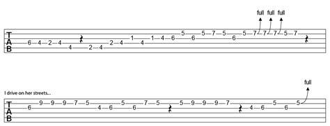 Red Hot Chili Peppers – Under The Bridge – Tabs – Kfir Ochaion