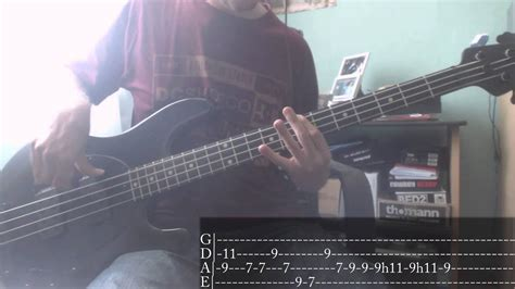 Red Hot Chili Peppers   Under The Bridge [Bass Cover + Tab ...