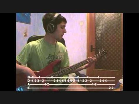 Red Hot Chili Peppers   Under the bridge  Bass cover with ...