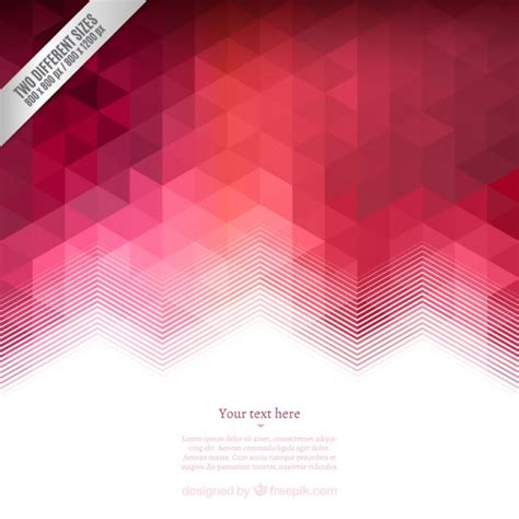 Red Triangles Vectors, Photos and PSD files | Free Download
