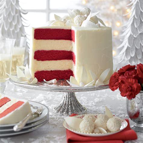 Red Velvet White Chocolate Cheesecake Recipe | MyRecipes