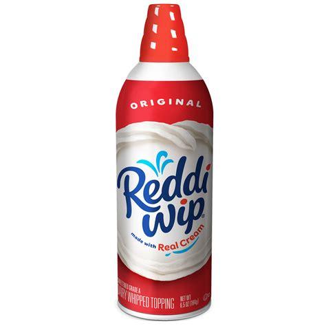 Reddi wip Original Whipped Dairy Cream Topping, 6.5 oz.