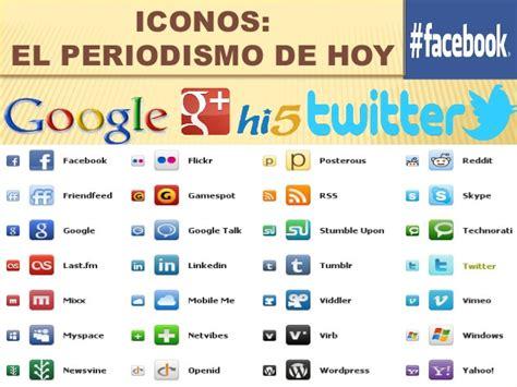 Redes sociales con sus nombres   Imagui