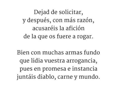 REDONDILLAS   Poema 4/4 Sor Juana Inés de la Cruz | Poemas ...