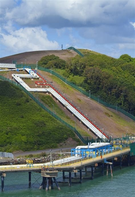 Refinary Pipeline in Milford Haven Pembrokeshire South ...