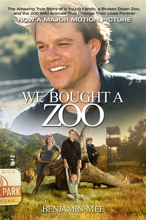 Reflections on the movie We Bought a Zoo   Minette Riordan ...