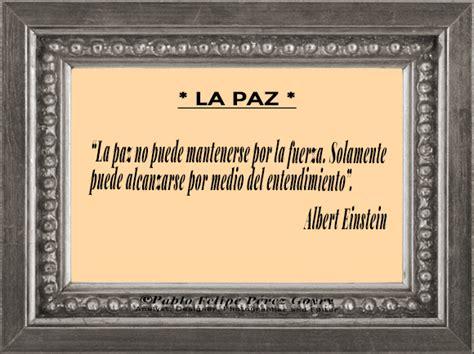 Reflexión 199_ La Paz _Albert Einstein | Blogs El Espectador