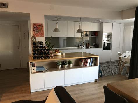 Reforma de cocina y salón con muebles Dica en Mirasierra ...