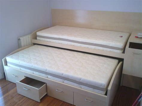 Reforma dormitorio con cama nido y litera