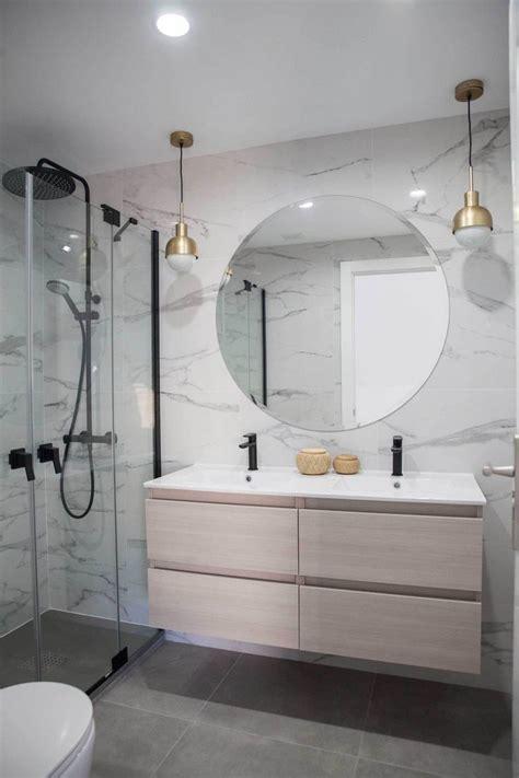 Reforma integral; baño | Diseño de baños, Baños de mármol ...