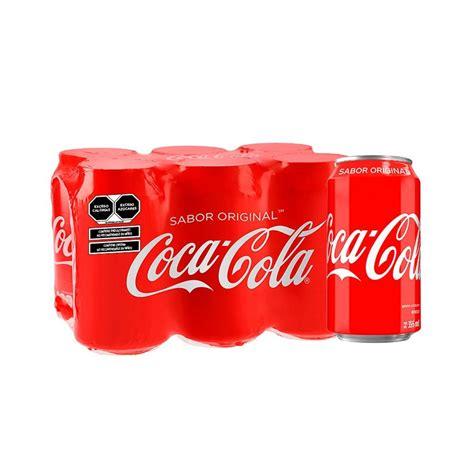 Refresco Coca Cola 6 latas de 355 ml c/u | Superama a ...