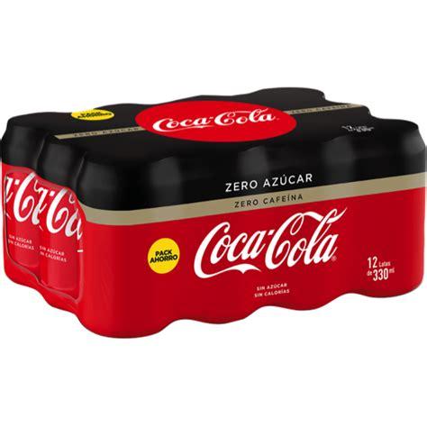REFRESCO ZERO ZERO COCA COLA 33 CL P 12 – Supercoke.es