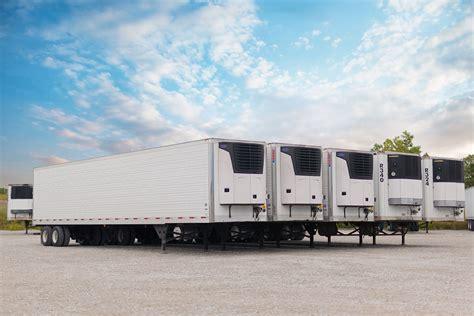 Refrigerated Trailer Rentals   MCT   Midlands Carrier ...