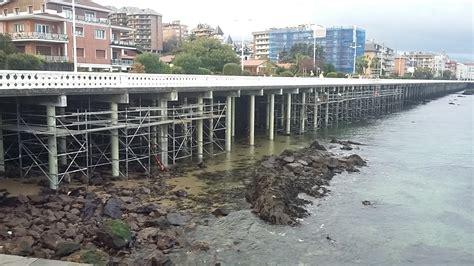 Refuerzo de los pilares en el Paseo Marítimo de Castro ...