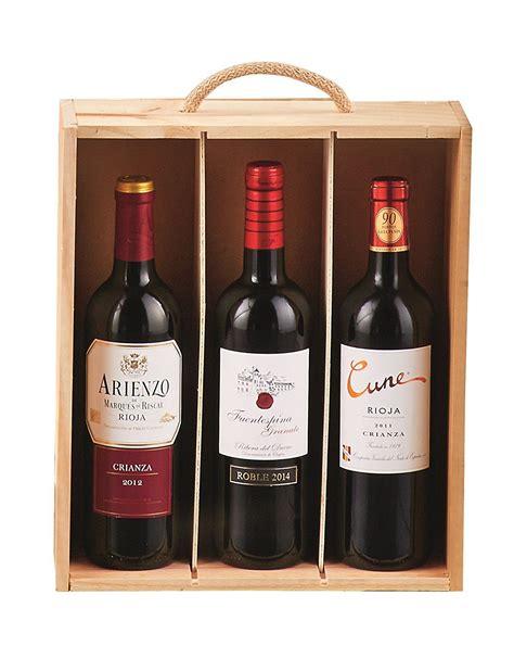 Regalo Caja de Madera de Vinos 41: Amazon.es: Supermercado ...