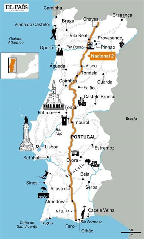 REGIÃO:  El País  elege Rota da Estrada Nacional 2 para ...