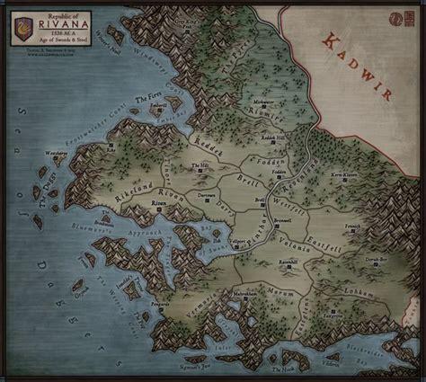 Regional Map   Rivana by Levodoom.deviantart.com on ...