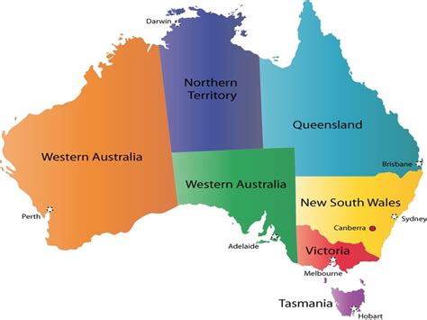 Regiones de Australia   emigrar a australia   vivir en ...