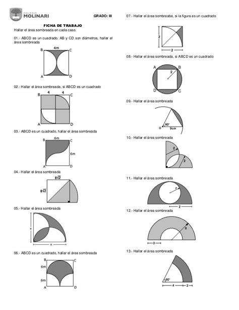 Regiones sombreadas | Curiosidades matematicas, Angulos ...
