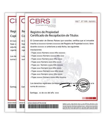 Registro de Propiedad, Hipotecas y Prohibiciones | CBRS