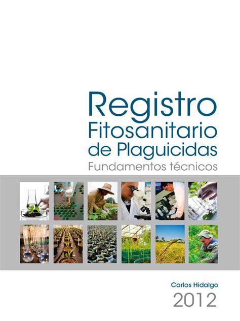 Registro Fitosanitario Plaguicidas 2013   Pesticida   Suelo