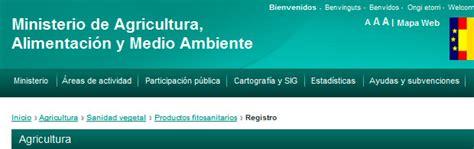 Registro Oficial de Productos Fitosanitarios  ROPMF ...